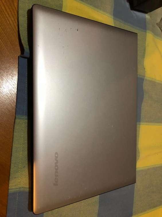Notebook lenovo con falla