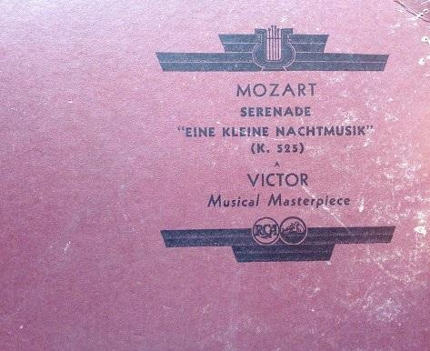 "Mozart ""senenade"" (2 lp)"
