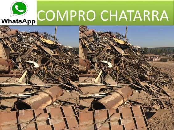 Chatarra fierro rancagua 973715330
