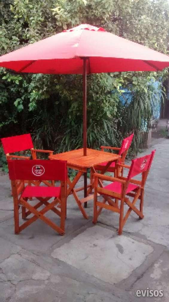 Juegos de terraza, sillas y mesas plegables