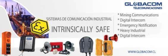 Megafonia y telefonia industrial