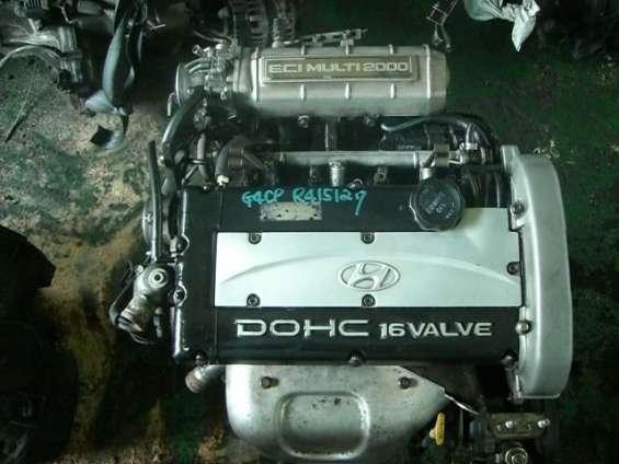 Motor hyundai sonata