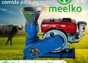 Meelko Peletizadora 150 mm electrica 5.5kw kw para concentrados balanceados MKFD150C