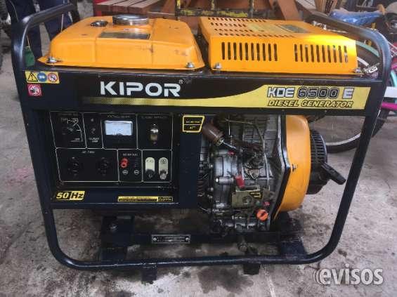 Generador diesel impecable solo uso ocacilonal