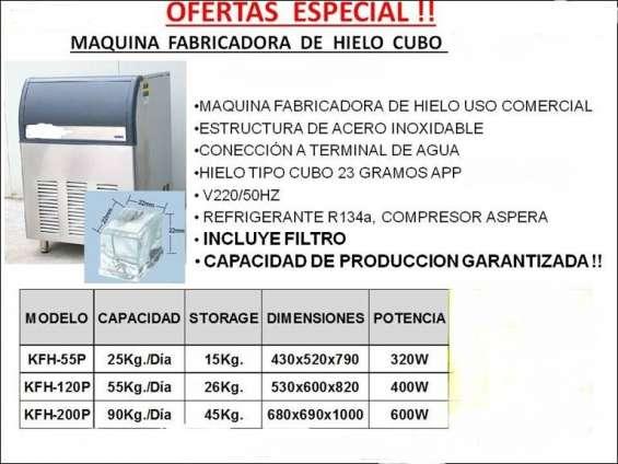 Fabricadora de hielo de 90 kilos