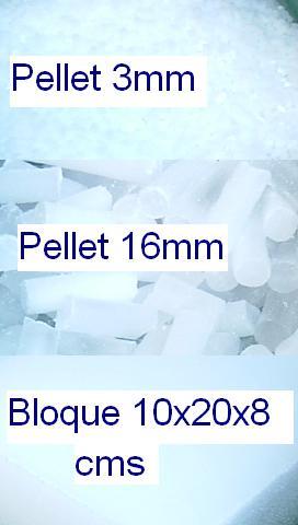 Hielo seco en pellets y ladrillos (envíos a todo chile