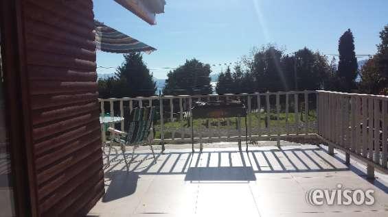 Vista terraza cabaña 1