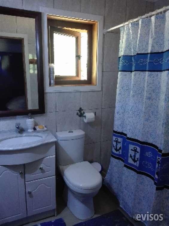 Baño en suite dormitorio principal  cabaña 1