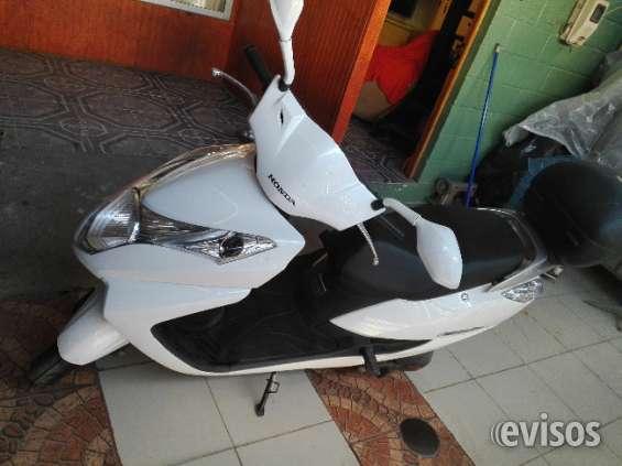 Vendo moto new élite honda