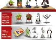 Venta de artesanía y decoración en fierro