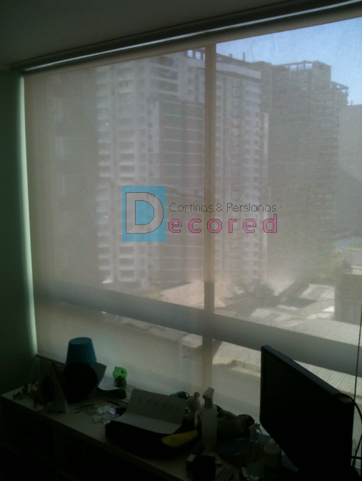Cortinas roller tela screen decored