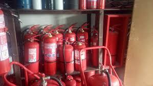 Extintores de polvo químico abc para empresas