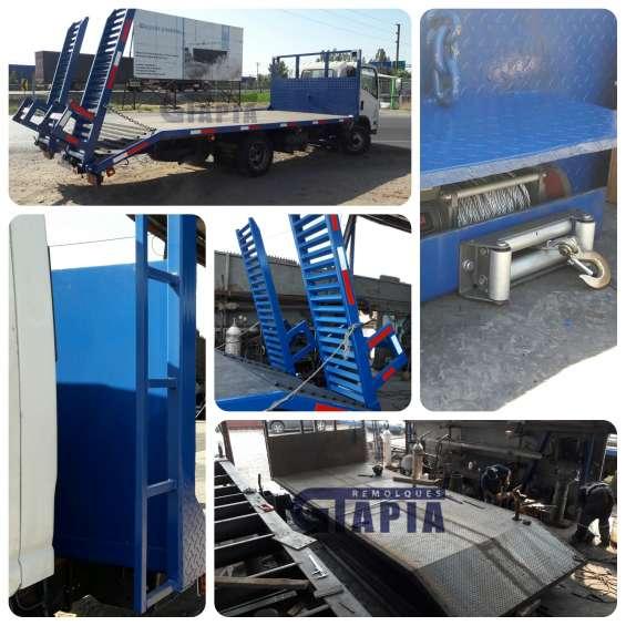 Carrocería plataforma automovilera (transporte de vehículos)