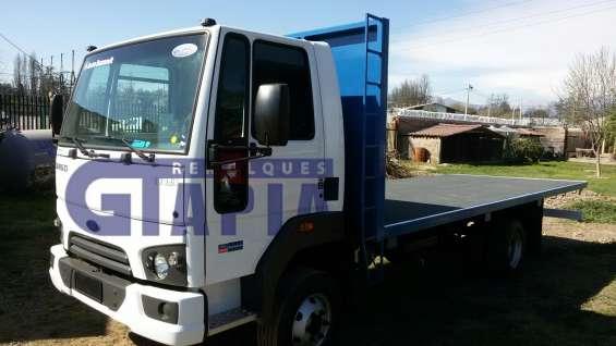 Carrocerías planas y con barandas camión ford