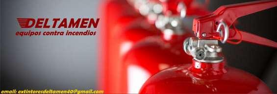 Extintores de polvo quimico abc para empresas