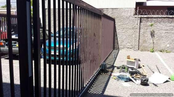 Portones automaticos ñuñoa servicio tecnico a domic