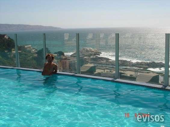 Reñaca cochoa, depto con vista al mar!!!!