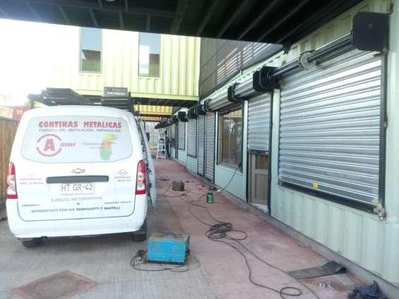 Cortinas metalicas, fabricacion , reparacion manuales y motorizadas