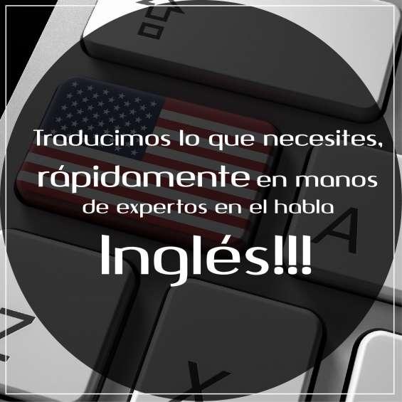 Traduccion del español al ingles