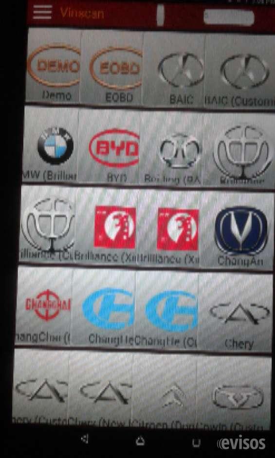 Scanner vehículos chinos