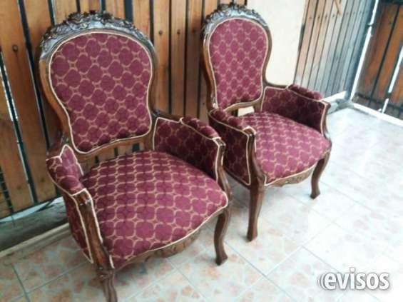 Se tapisan sillas y sitiales