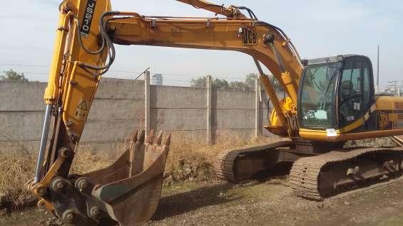 Excavadora jcb js210lc