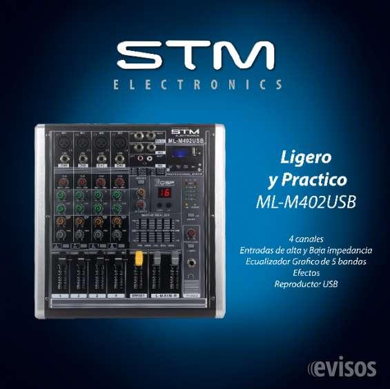 Mezcladora amplificada stm eletronics