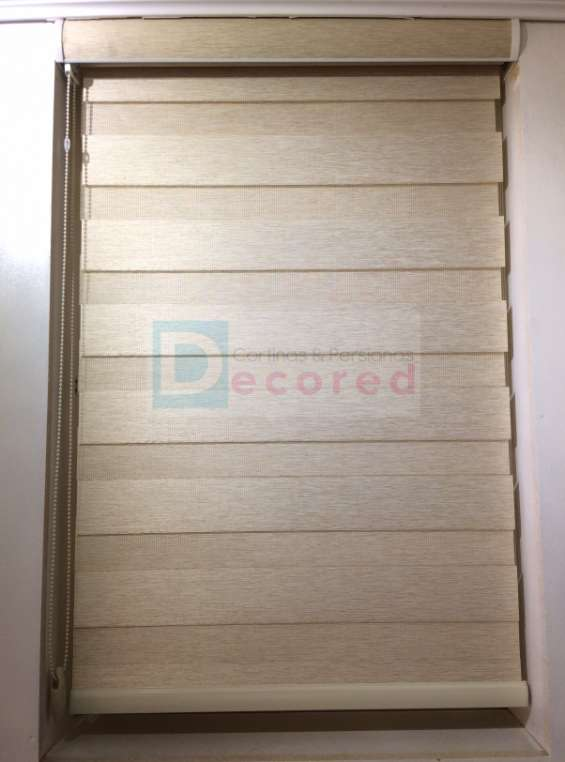 Cortinas roller duo (dia – noche) decored