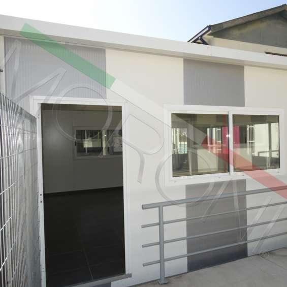 Construcción modular con paneles de poliuretano