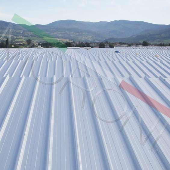 Cubrimiento de áreas con paneles de cubierta