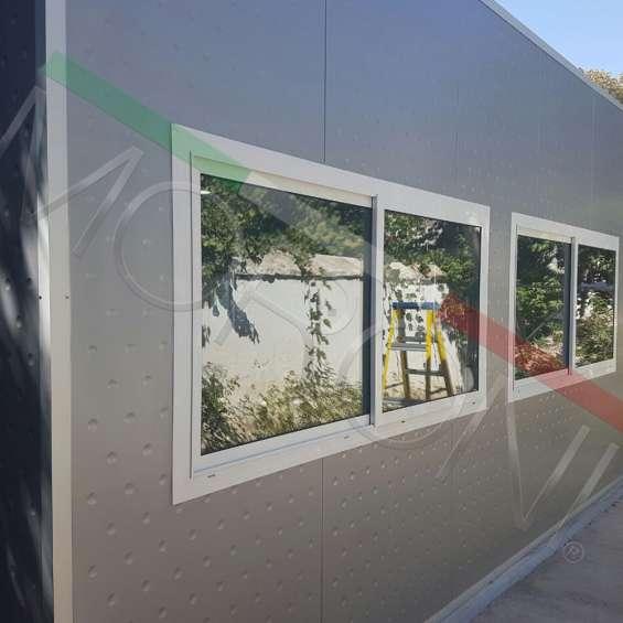 Construcción modular con paneles arquitectonicos