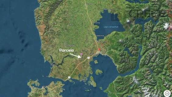 Parcela en puerto montt, 1 hectárea a solo 20km en ruta a chiloe.