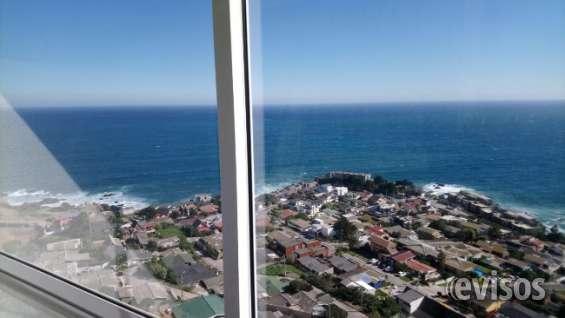 Precioso depto costa montemar vista libre al mar