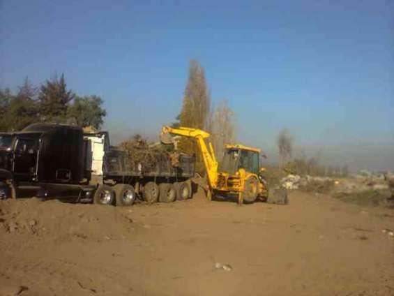 Limpieza de terreno lonquen +56973677079 demoliciones