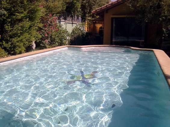 Reparacion de piscinas no mas pintura con diamond brite