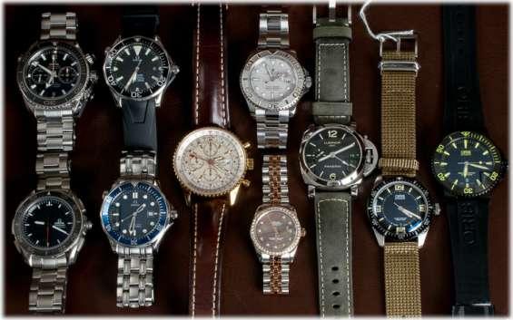 Compro:relojes rolex y cronometros ,y otros de pulsera,tambien joyas .-