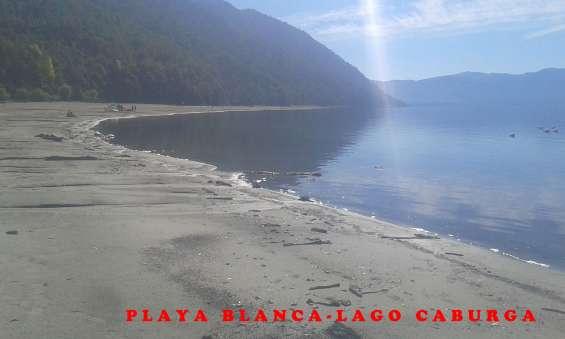 Pucon caburga 9,4 hts a metros de playa blanca