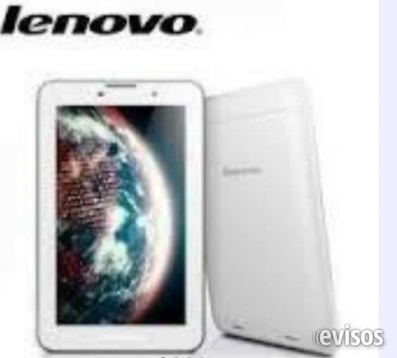 Tablet lenovo teléfono viene con chip prepago wom , a7-30 system, memory 1g ram, cap 8g ,