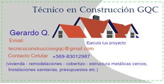 Trab. de construcción