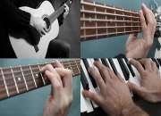 Clases de guitarra, bajo eléctrico y piano