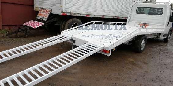 Carrocería plataforma para vehículos cama baja, automovilera