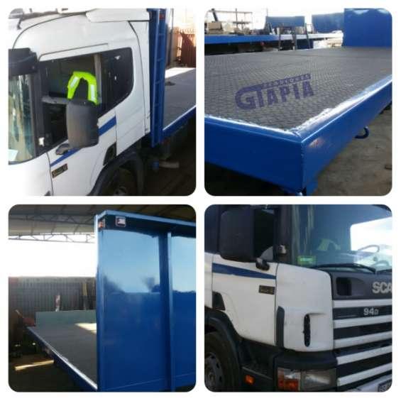 Carrocería camión scania, ford cargo fuso, boxer l3 y l4, mercedes benz, volvo, chevrolet npr nkr nqr fvr fvv
