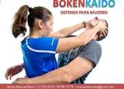 Curso para aprender a defenderte con boxeo, karate y aikido,