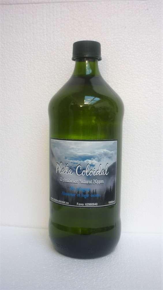 Plata coloidal 20ppm 1000ml botella