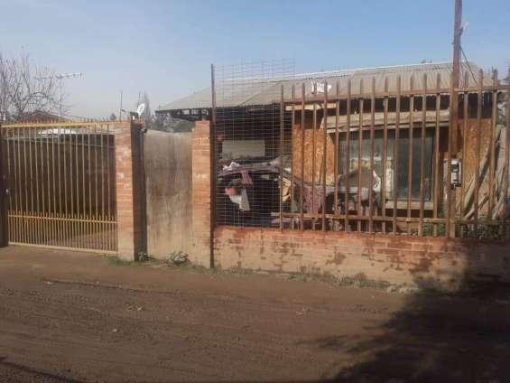 Terreno con casa 170 m2 comuna padre hurtado