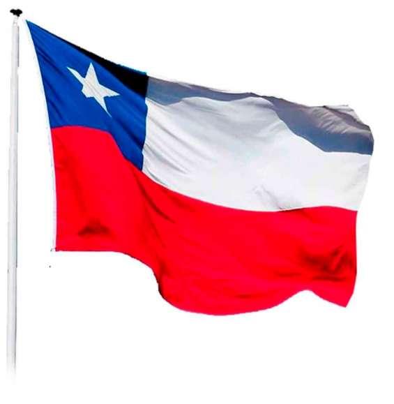 Banderas chilenas por mayor en santiago
