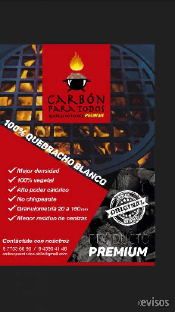 Carbón quebracho blanco de paraguay