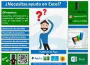 Formatos, Consultorías y Tutorías MS Office (Excel, Word, PP, Visio)