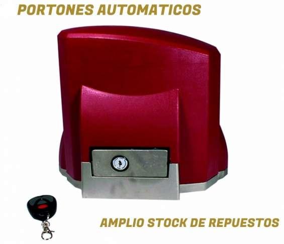 Reparacion y venta de portones automaticos rancagua