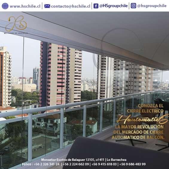 Cortinas de cristal para cierres de balcones y terrazas